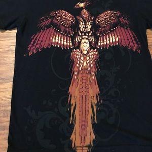 Warner Bros. Tops - Harry Potter Phoenix Black T-shirt